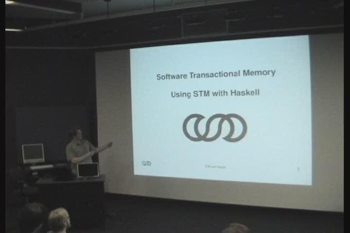 Thumbnail of tech talk by Brennan Taylor: Software Transactional Memory and Haskell