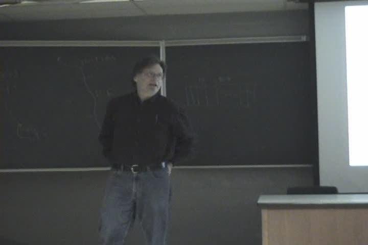 Thumbnail of tech talk by Dr. Gord Cormack: Spam Filters: Do they work and Can you prove it