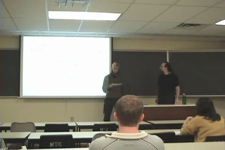 Thumbnail of tech talk by Ian Goldberg: Off-the-Record Messaging: Useful Security and Privacy for IM