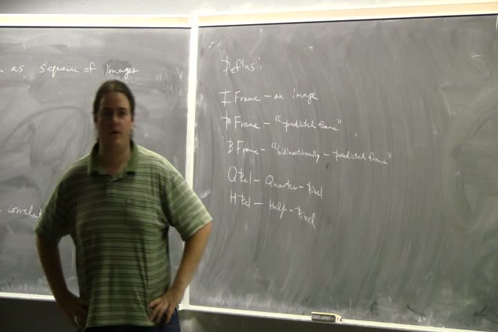 Thumbnail of tech talk by Peter Barfuss: A Brief Introduction to Video Encoding
