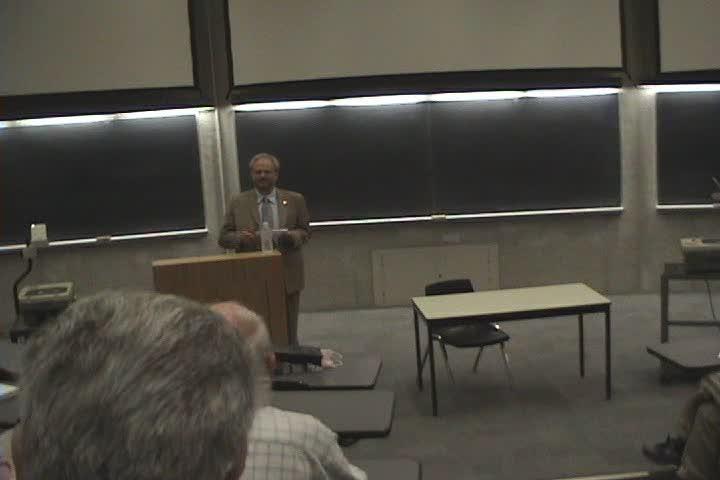 Thumbnail of tech talk by Ralph Stanton: Ralph Stanton 40th Anniversary of Math Faculty Talk
