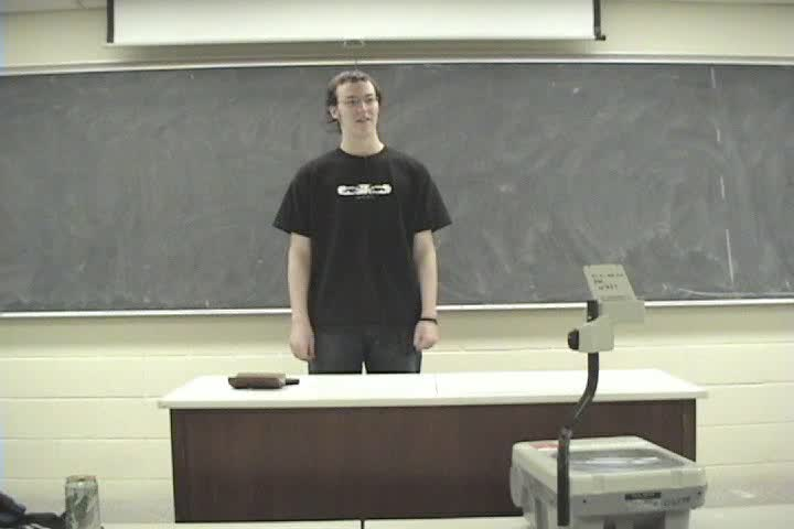 Thumbnail of tech talk by The Prof: Introduction to 3-d Graphics